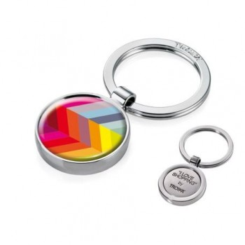 Breloc chei Troika Digital Rainbow