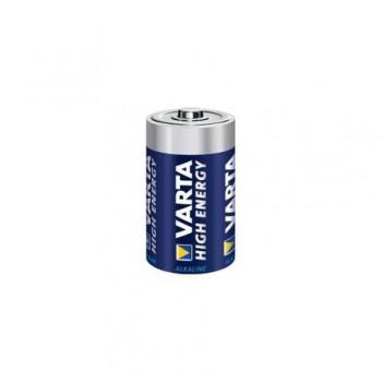 Baterie alcalina Varta High Energy, 1.5V R14, 2 bucati/set