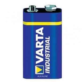 Baterie alcalina Varta 6LR61 Industrial, 9V