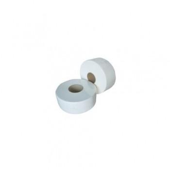 Hartie igienica Maxi Jumbo, 2 straturi, alb, 170 m/rola, 12 bucati/set