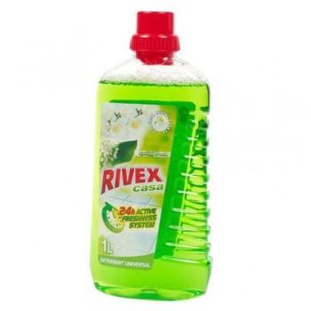 Detergent pentru suprafete universale Rivex Spring Fresh, 1 l