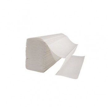 Set servetele pliate Z, 2 straturi, alb, 150 bucati/set
