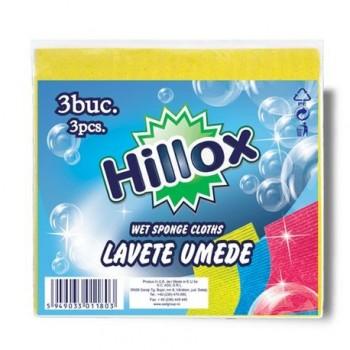 Laveta umeda Hillox, 3 bucati/set