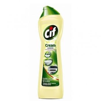 Crema de curatat Cif Lemon, 500 ml