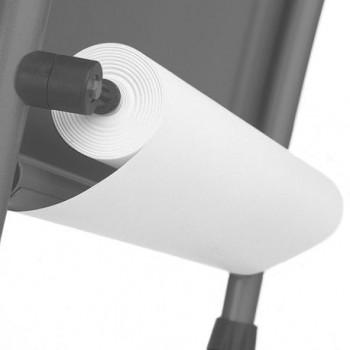 Rezerva hartie roll-up pentru flipchart Bi-Silque, 60cm x 35m, 80 g/mp