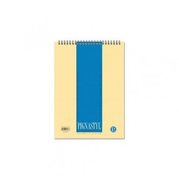 Bloc Notes Pigna Style, A4, 60 file, matematica