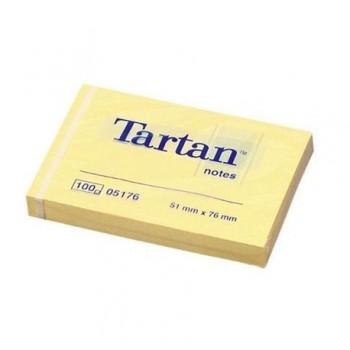 Notite adezive 3M Tartan, 51 x 76 mm