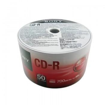 CD-R Sony, 700MB, 52x, 50 buc