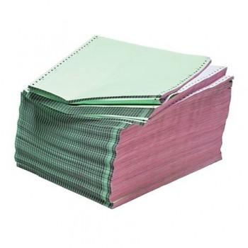 Hartie imprimanta matriceala A4, 2 exemplare, alb/color