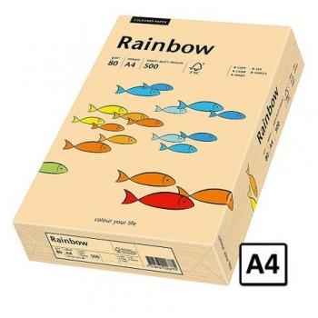 Hartie A4 Rainbow, 80 g/mp, 500 coli/top, salmon