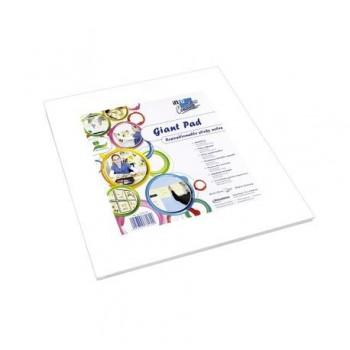 Pad gigant pentru colorat Info Notes, alb, 50 coli