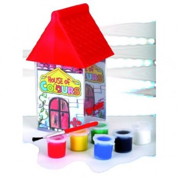 Tempera Toy Color House of Colours, 6 culori