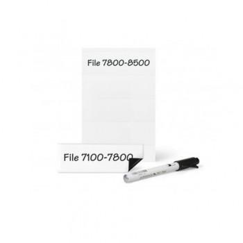 Suport magnetic Tarifold, pentru etichete, 25 mm x 75 mm, 6 bucati/set