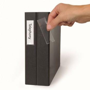 Buzunar adezive 3L, pentru etichete, 25 x 75 mm, 48 bucati/set