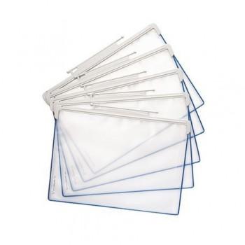 Folie pentru sistem de prezentare Tarifold Design Line, A4, 5 bucati/set