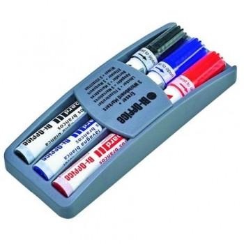Kit burete cu 3 markere Bi-Silque pe suport