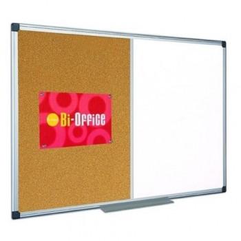 Panou de prezentare Bi-Silque Combo, rama din aluminiu, 60 x 90 cm