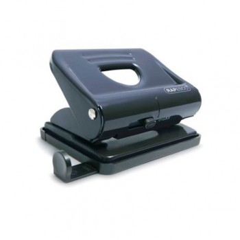 Perforator metalic Rapesco, 22 coli, negru
