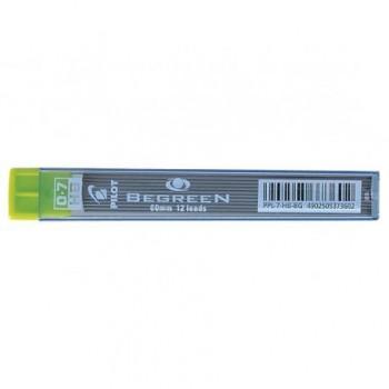 Mine creion mecanic Pilot BegreeN, 0.7 mm, HB