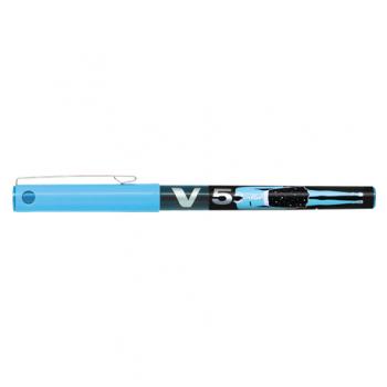 Roller Pilot V5 Collector, 0.5 mm, bleu, blister