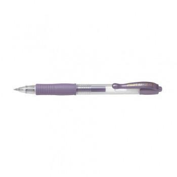 Roller cu gel Pilot G-2 Metalic, 0.7 mm, violet