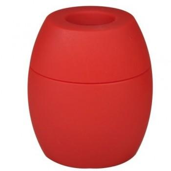Dispenser magnetic Tu-K-No, pentru agrafe, rosu