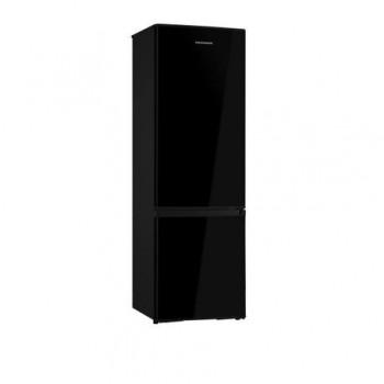 Combina frigorifica Heinner HC-H273BKA+, capacitate bruta: 282 L, capacitate neta: 273 L, clasa energetica: A+, 2 usi, 3 rafturi de sticla frigider,