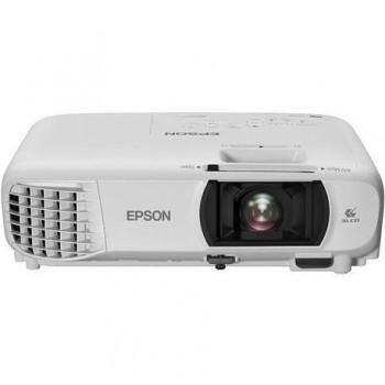 Proiector Epson EH-TW610, 3LCD, Full HD 1920x1080, 3000 lumeni, 10000:1,lampa 7500 ore (eco mode), Composit, VGA, USB 2.0 Type A/ B,HDMI,WI-FI,