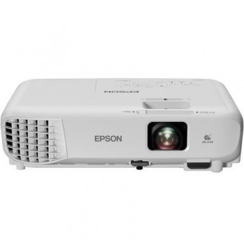Proiector Epson EB-X05 3LCD, XGA 1024x768,3300 lumeni,15000:1,lampa6000 ore/ 10.000 ore eco mode, USB 2.0 Type A, USB 2.0 TypeB, VGA in, HDMI in,