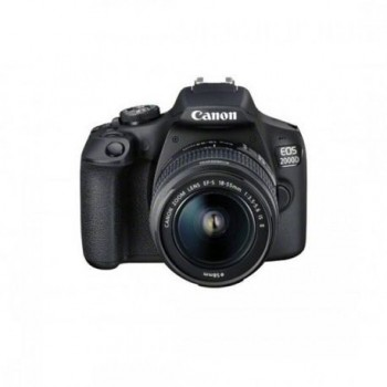 Camera foto Canon EOS-2000D kit, obiectiv EF-S 18-55mm f/3.5-5.6 IS II 24.1MP,3.0
