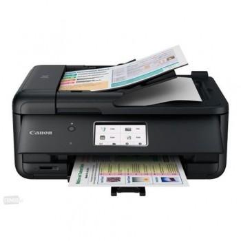 Multifunctional inkjet color Canon Pixma TR8550 Black, dimensiune A4 (Printare, Copiere, Scanare, Fax), viteza 15ipm alb-negru, 10ipm color,