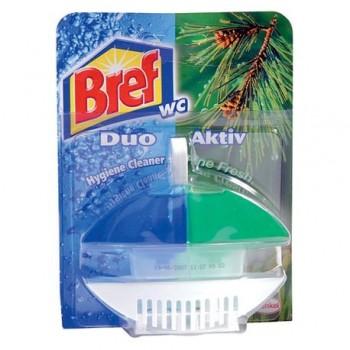 Odorizant wc Bref Duo Aktiv Pin, 50 ml