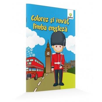 Colorez și învăț cuvinte în limba engleză