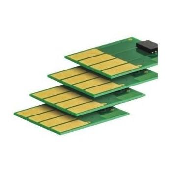 Chip compatibil cu Lexmark MLCX310 cyan