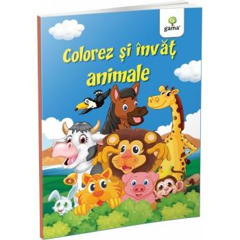 Colorez și învăț animale