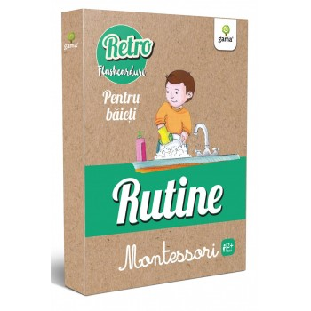 Rutine Montessori pentru băieți