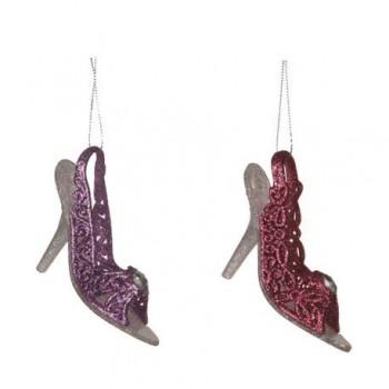 Ornament Edelman, pantofiori gliterati