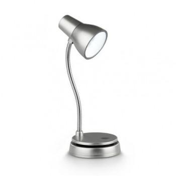 Lampa mica, argintie