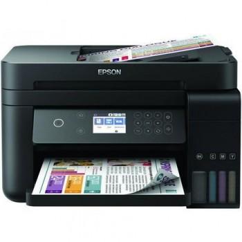 Multifunctional inkjet color Epson EcoTank CISS L6170, dimensiune A4 (Printare,Copiere, Scanare), printare borderless, viteza 33ppm alb-negru, 20ppm