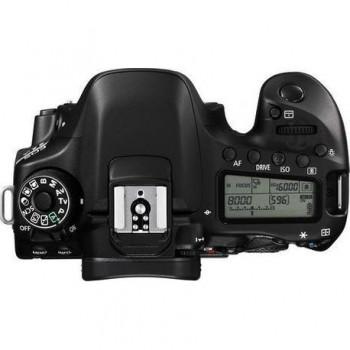 Camera foto Canon EOS-80D BODY Wifi Black, 24MP, CMOS,3