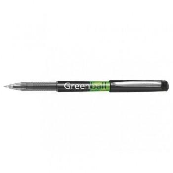 Roller Pilot Begreen Greenball, 0.7 mm, negru