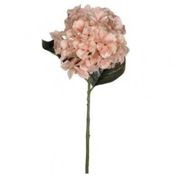 Decoratiune hydrangea, 69 cm, roz