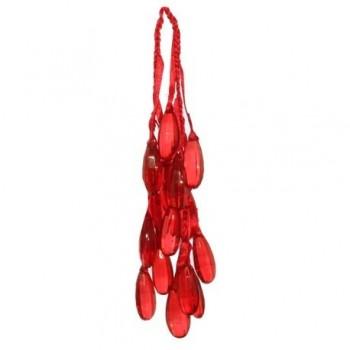 Decoratiune ghirlanda, 35 cm, rosu