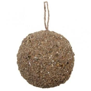 Glob cu glitter nisipiu, 9cm