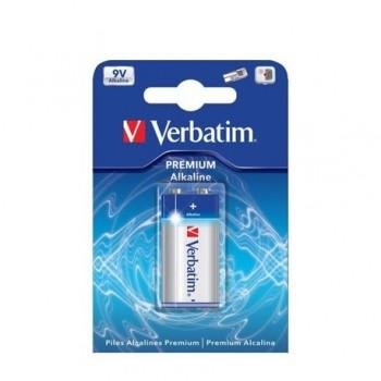 Baterie alcalina Verbatim 6LR61, 9V