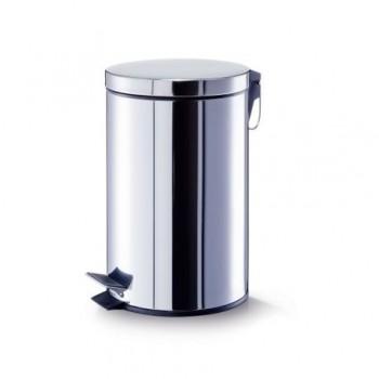 Cos de gunoi cu capac si pedala, inox, 20 l