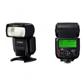 Blitz foto Canon Speedlite 430EX III RT Wireless TTL, numar director:43(m, ISO 100), zoom 14-105mm, declansare wireless, alimentare: 4xacumulatori AA