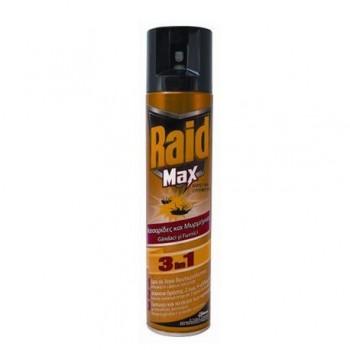 Spray pentru insecte Raid Max 3 in 1, 300 ml