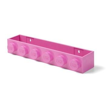 Suport LEGO pentru carti - Roz