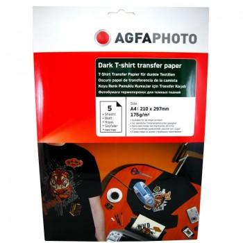 Hartie de transfer termic Agfa A4, 175 g/mp - DARK T-SHIRT